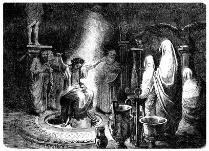 Ancient Greece : Pythia - La Pythie de Delphes